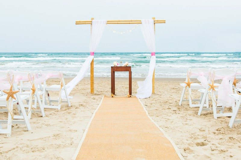 Seaside bliss wed beach for Texas beach wedding packages