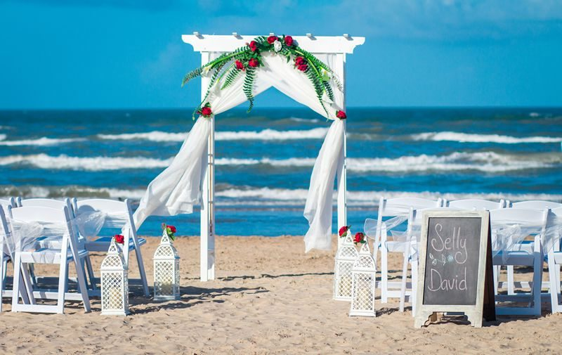 South Padre Sands Wedding