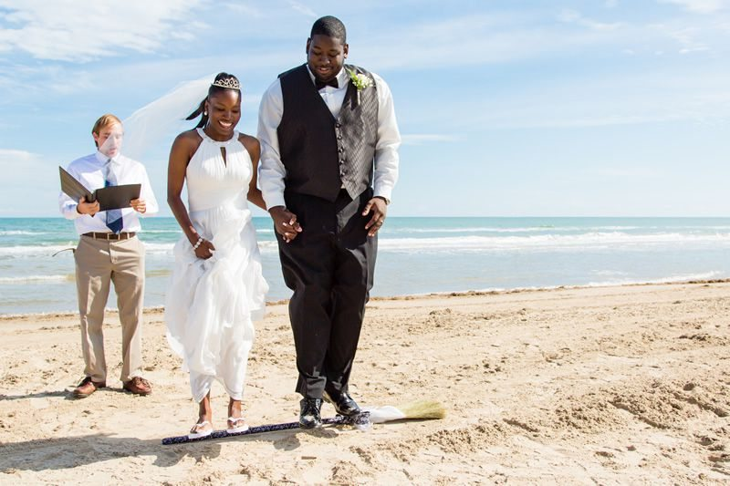 Wedding on South Padre Island Beach