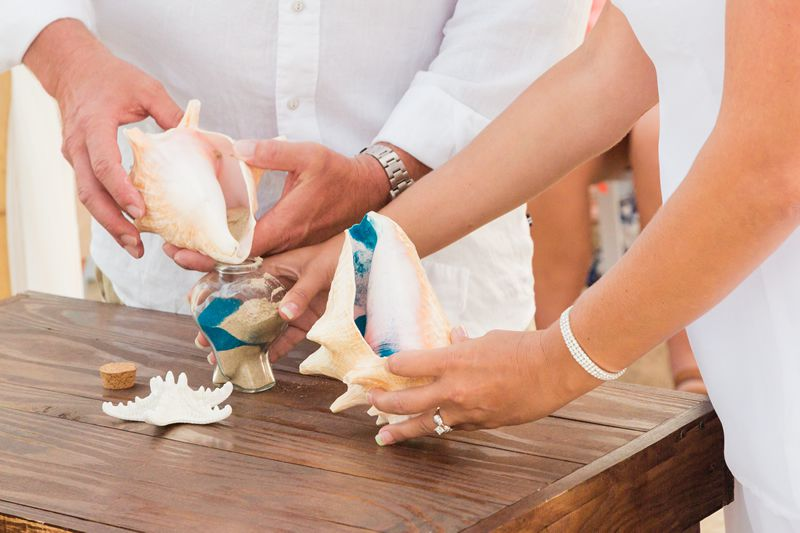 Vibrant Beach Wedding at South Padre Island